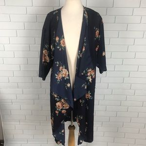 LulaRoe Lindsay kimono Waterfall Cardigan Cover Up